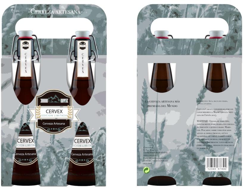 Packaging CERVEX 10