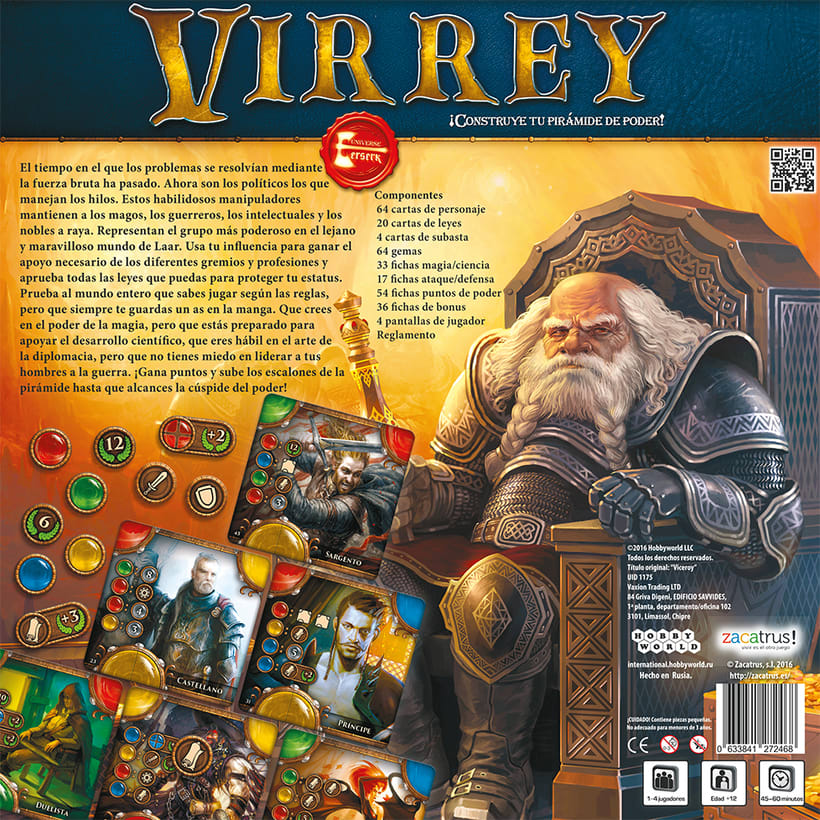 Virrey - Maquetación-adaptación-juego de mesa 2