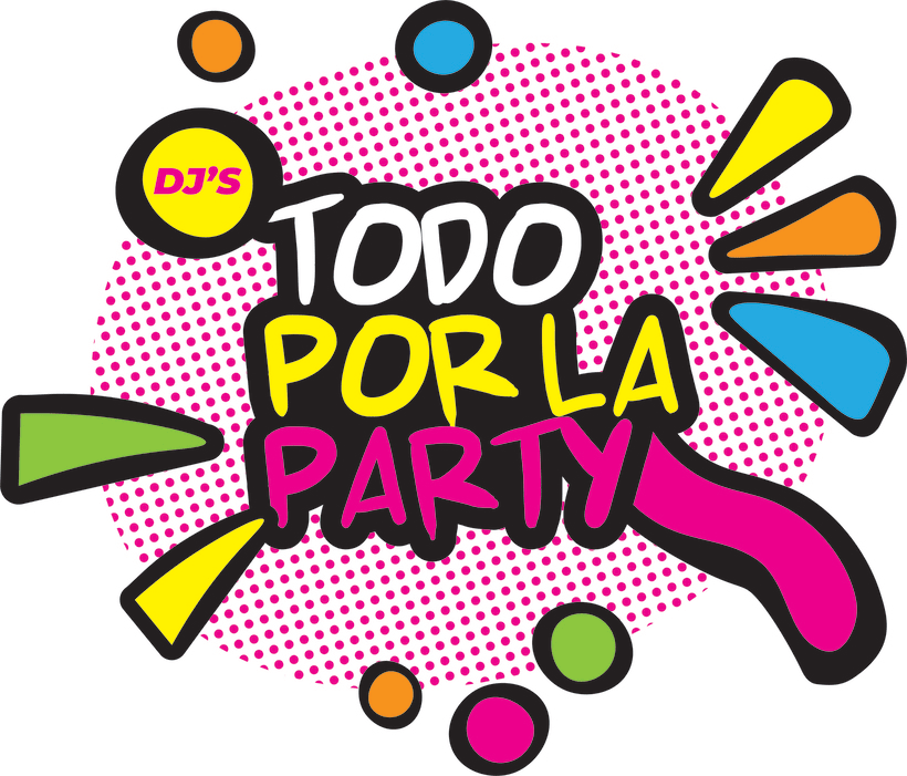 TODO POR LA PARTY (diseño de logotipo) -1