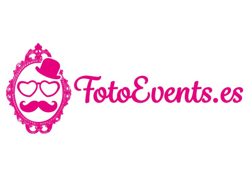 Diseño de logotipo FotoEvents 0