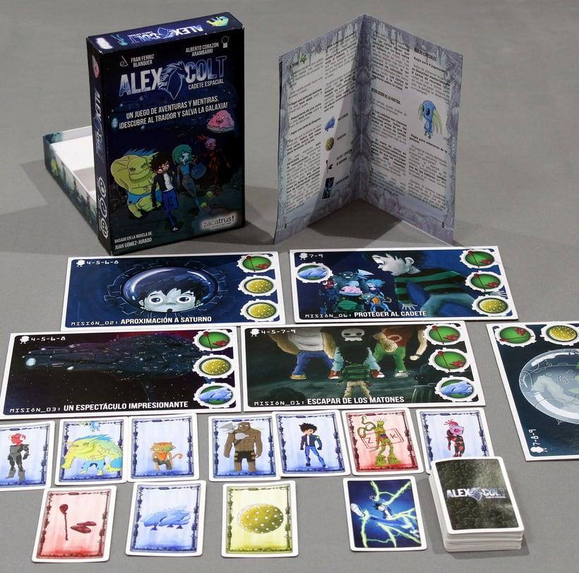 Alex Colt - diseño- maquetación - juego de mesa 1