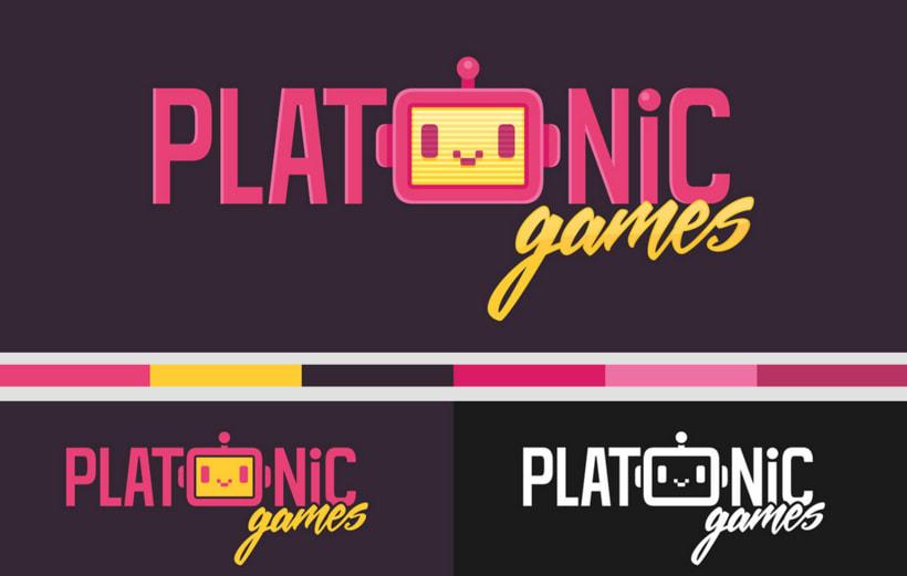 Logo Design | Platonic Games 2