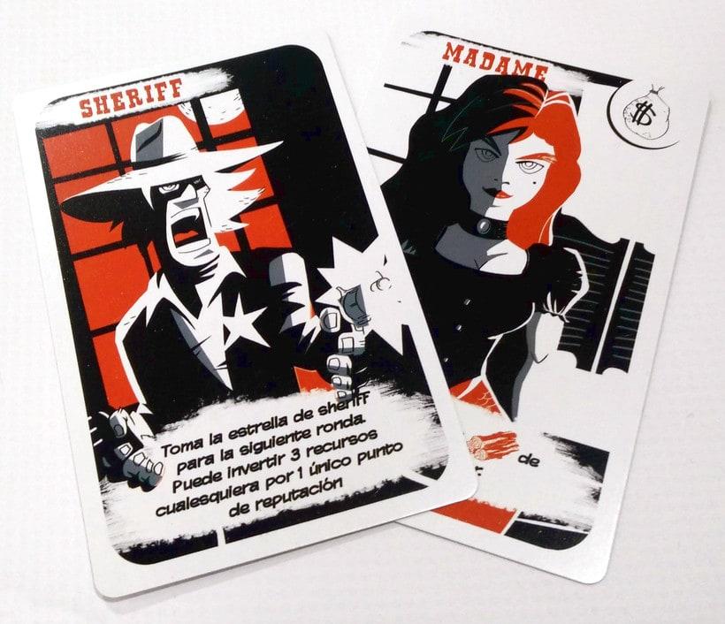 Black Hills - Diseño - Maquetación - juego de mesa 2