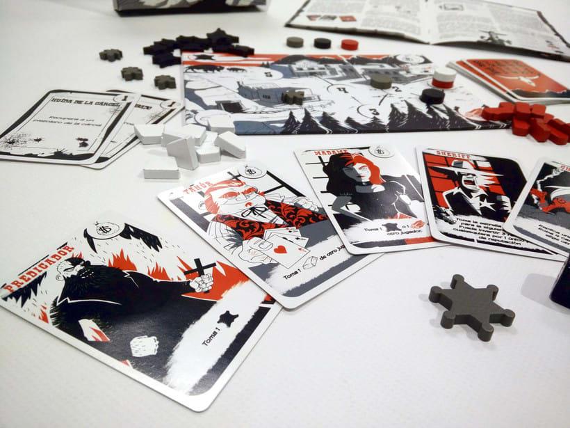 Black Hills - Diseño - Maquetación - juego de mesa 3