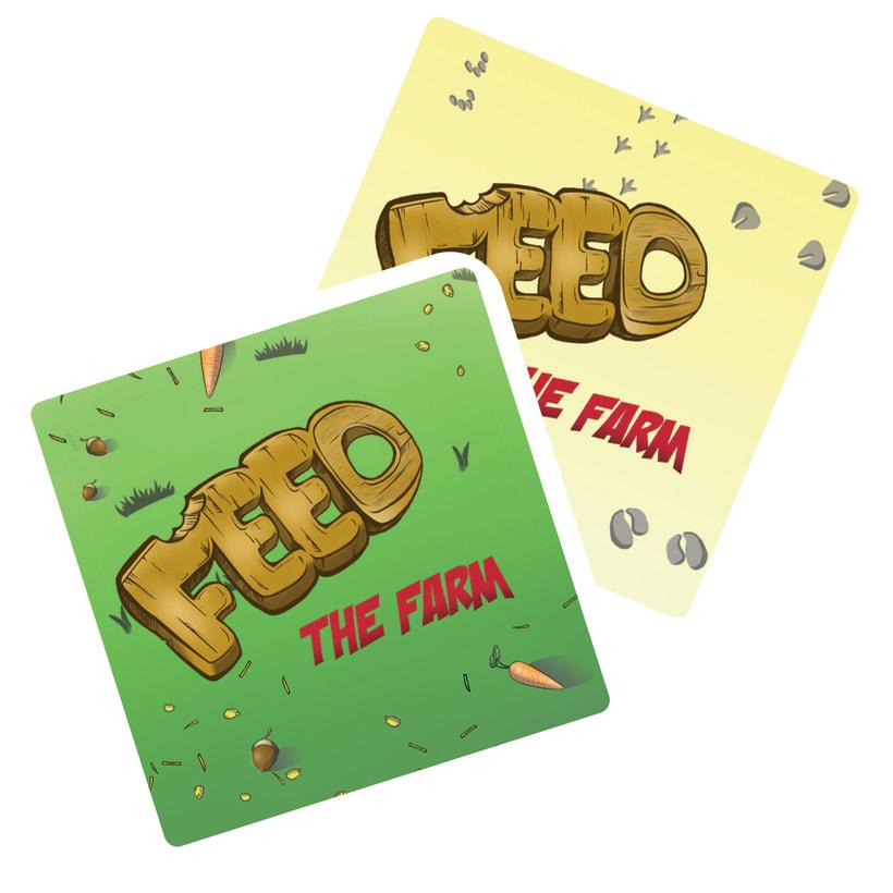 Zampa la granja -diseño gráfico y maquetación- juego de mesa 3