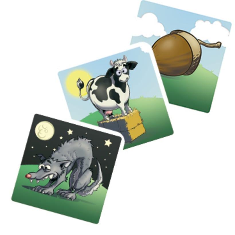Zampa la granja -diseño gráfico y maquetación- juego de mesa 4