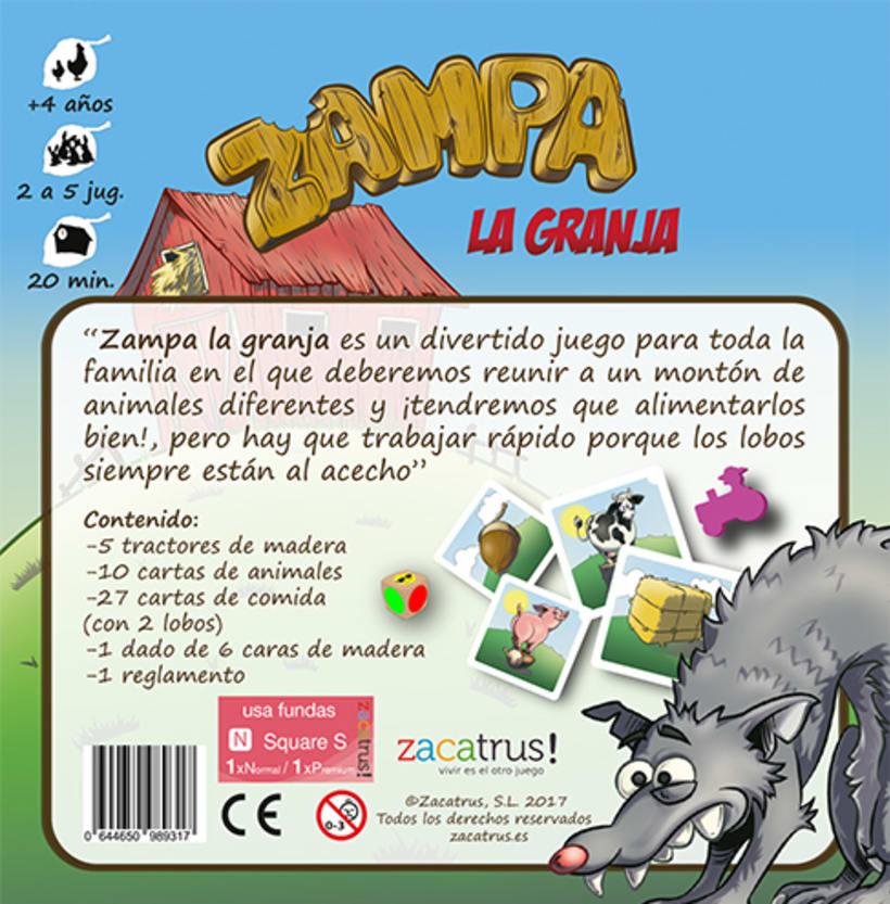 Zampa la granja -diseño gráfico y maquetación- juego de mesa 5