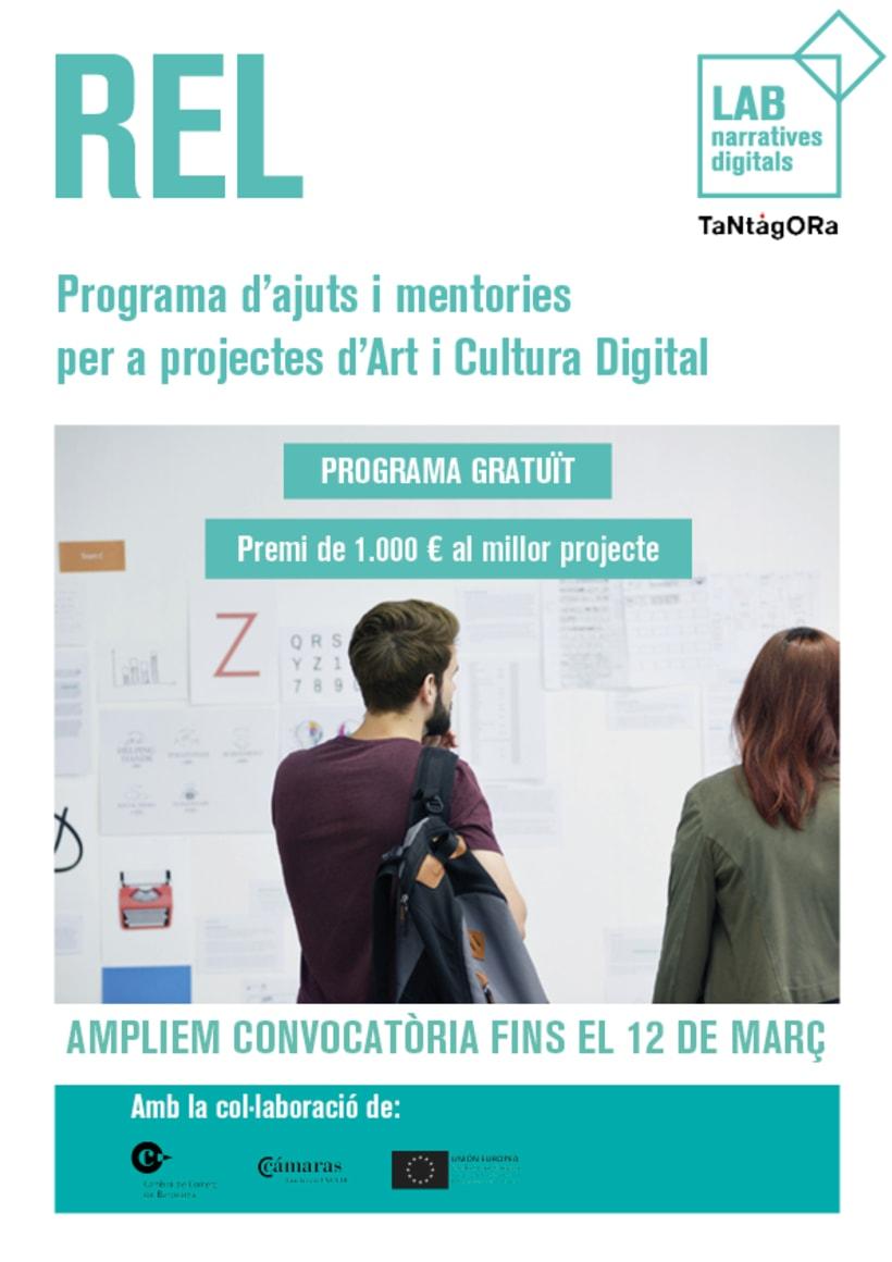 REL, programa de ayudas y mentorías para proyectos de arte y cultura digital 1