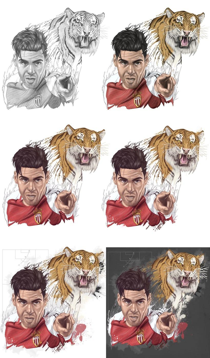 El tigre Falcao 1