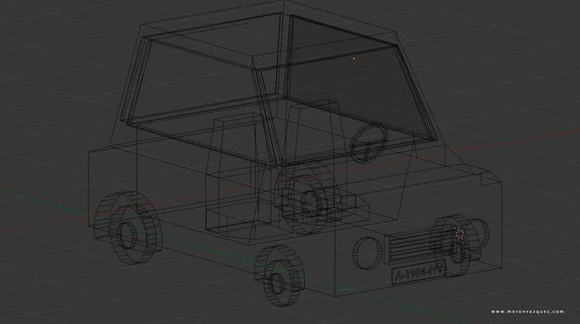 Mini paisaje en 3D / LowPoly 3