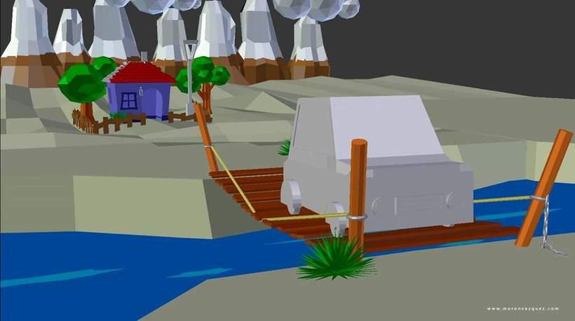 Mini paisaje en 3D / LowPoly 4