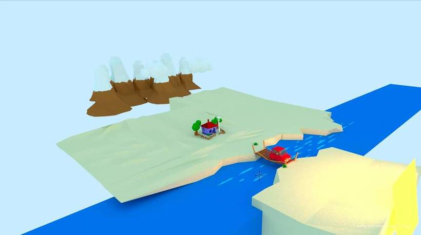 Mini paisaje en 3D / LowPoly 5