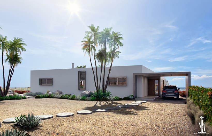 Mexican Beach House