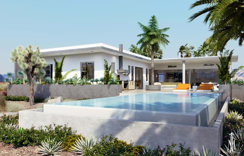 Mexican Beach House 1