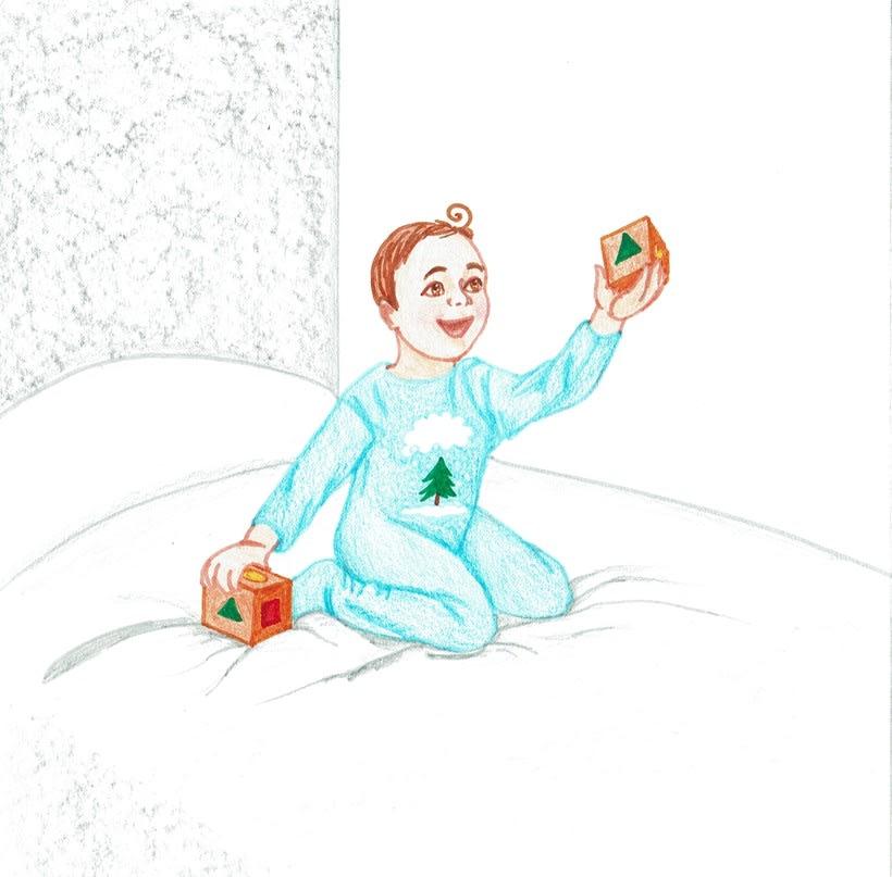 Ilustración de un cuento: L'Avet Màgic 5