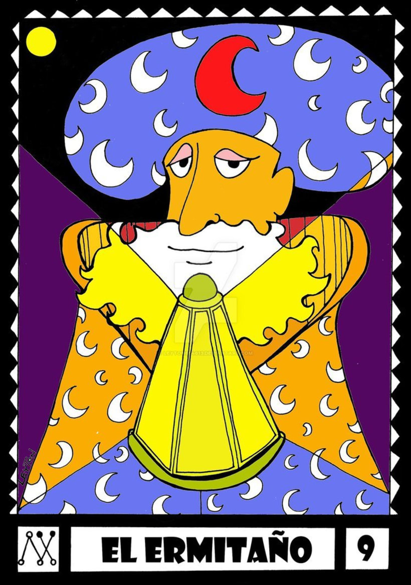 Leyton Tarot. Arcanos Mayores. 13