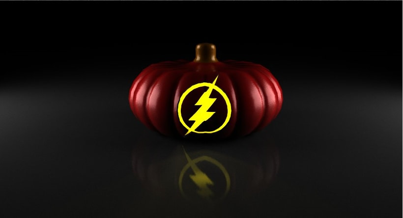 the flash pumpkin 0