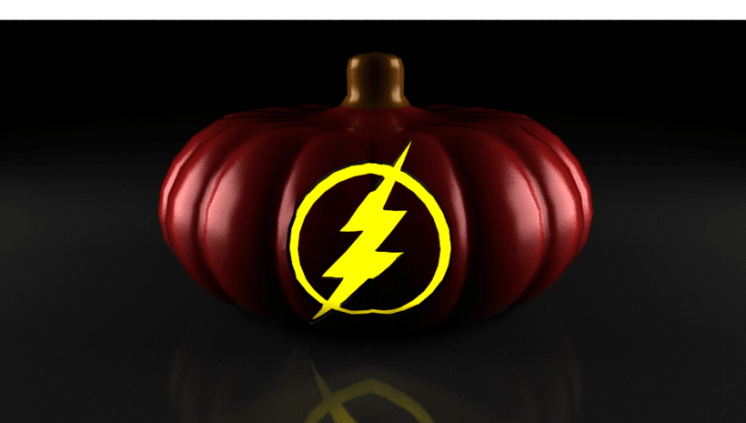 the flash pumpkin 1