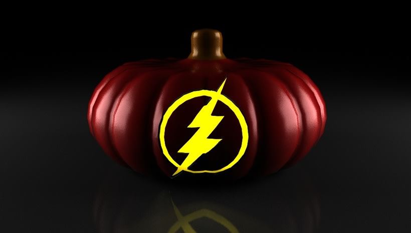 the flash pumpkin 2