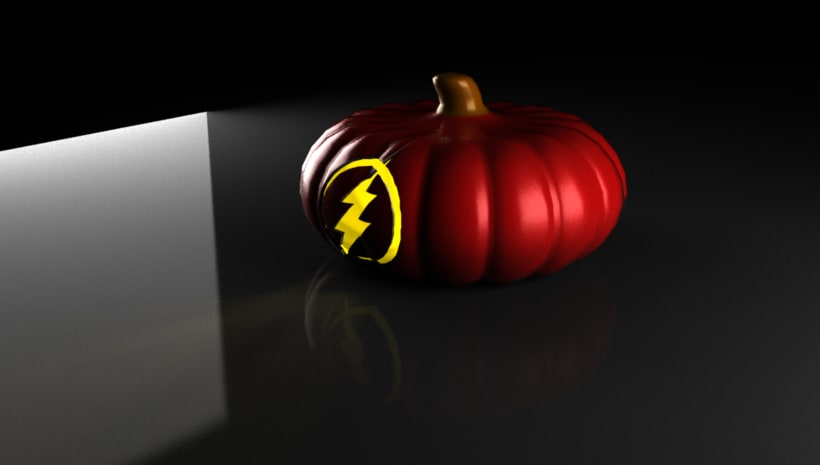 the flash pumpkin 3