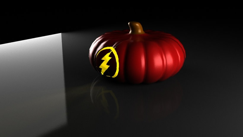 the flash pumpkin 4