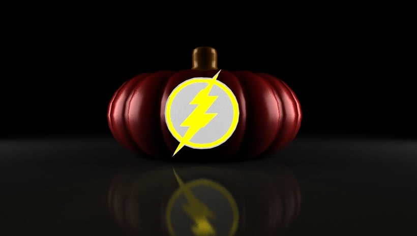 the flash pumpkin 5