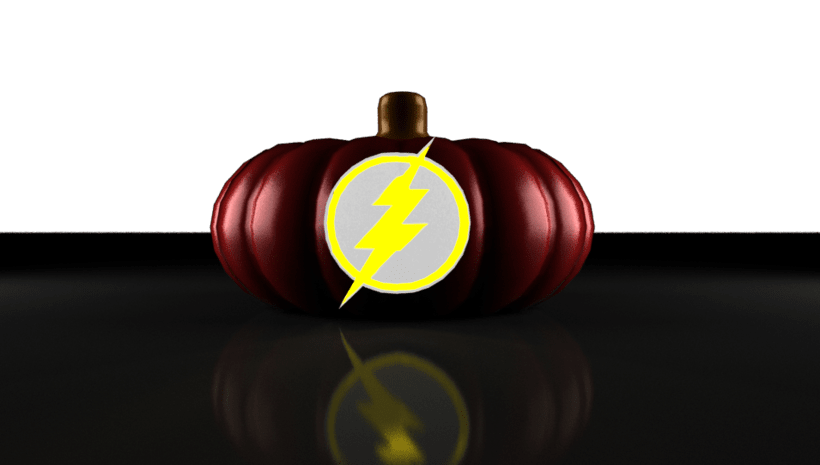 the flash pumpkin 6