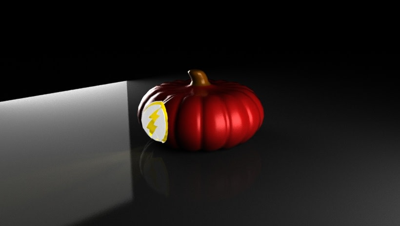 the flash pumpkin 7