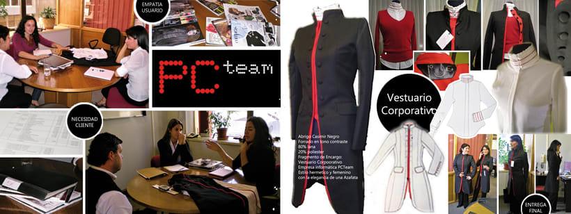 Vestuario Corporativo PCTeam 0