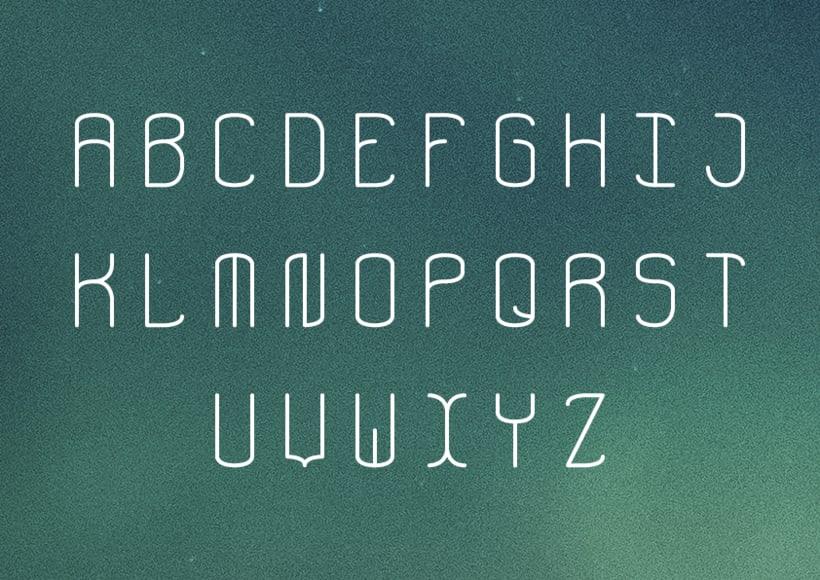 Aerospace - Tipografía modular 2