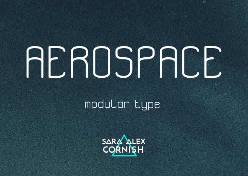 Aerospace - Tipografía modular 0