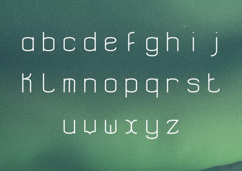 Aerospace - Tipografía modular 3