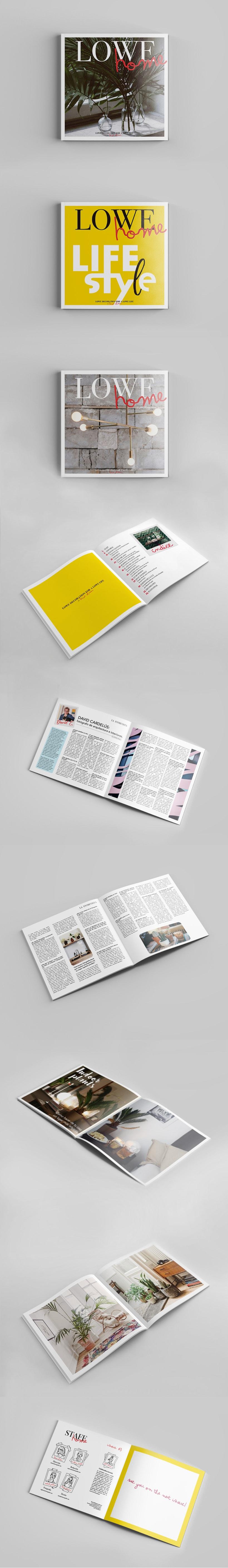 Lowe Home - Revista temática -1