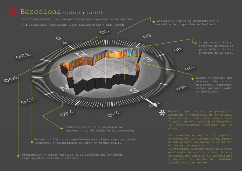 Proyecto de investigación y desarrollo - Documental inmersivo multisensorial de la ciudad -1