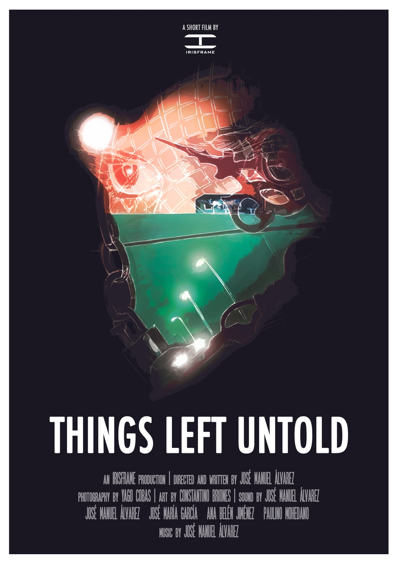 Shot Film Poster / Things Left Untold -1