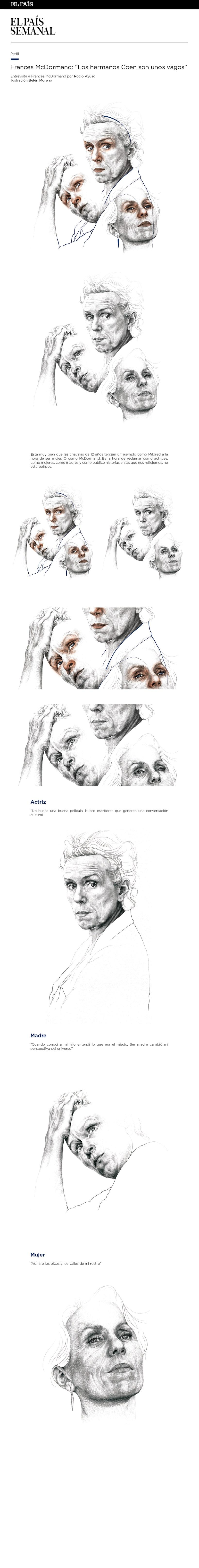 Las tres caras de Frances McDormand - El País Semanal 0