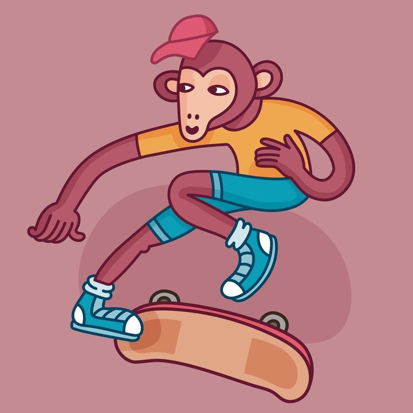 Monkey Style 1
