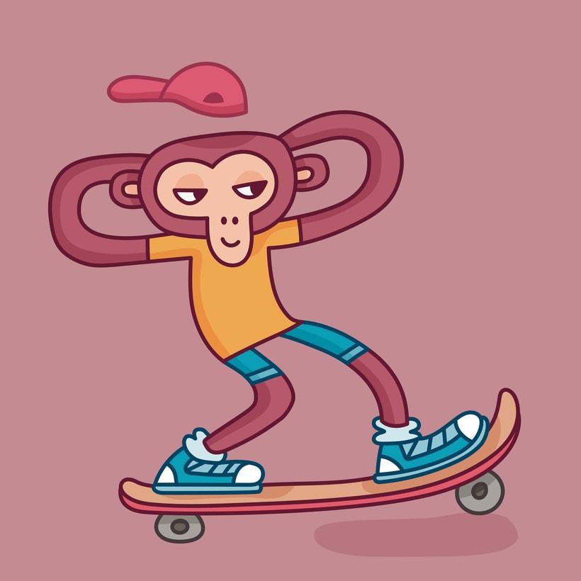 Monkey Style 3
