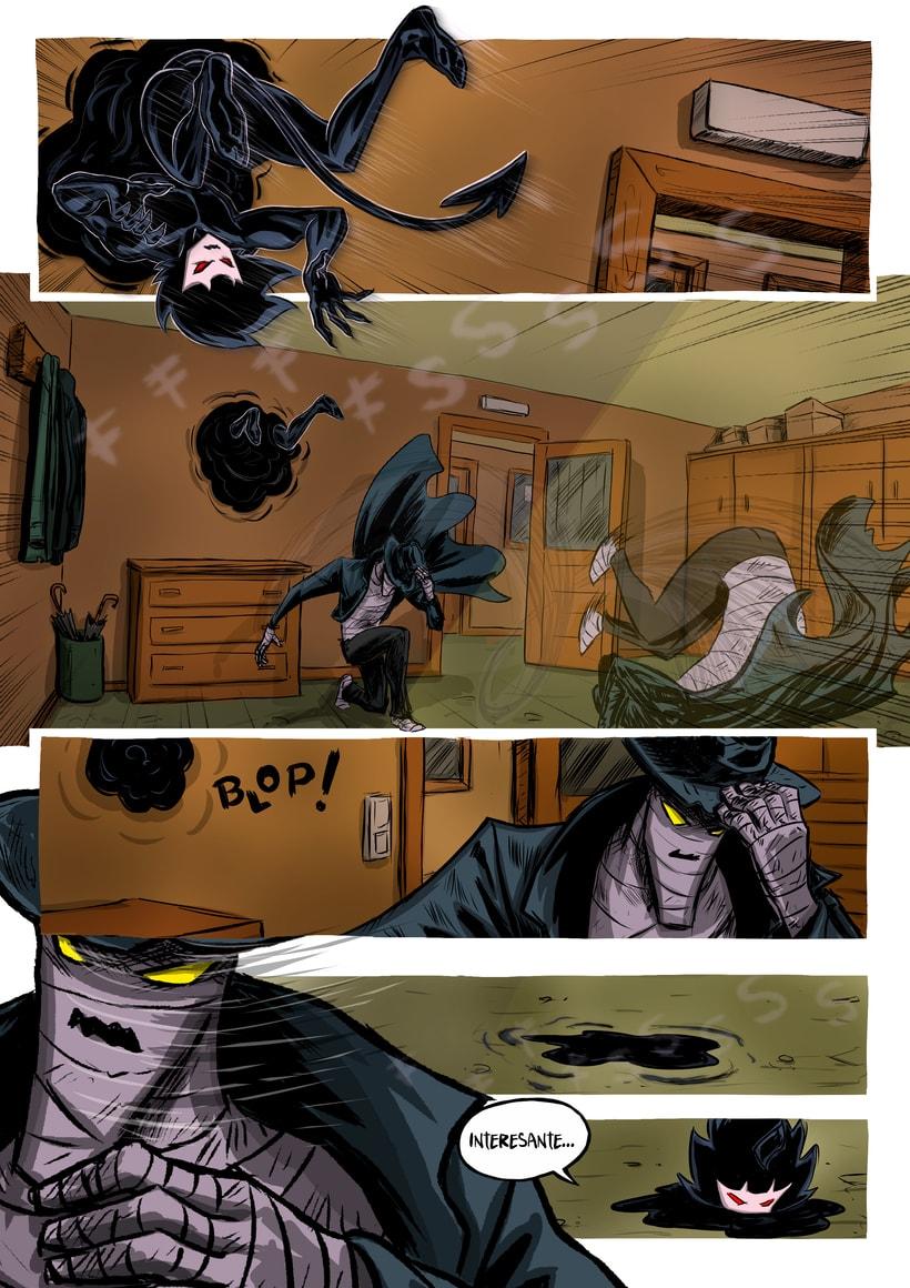 nuevas paginas de Detective Misterio 17