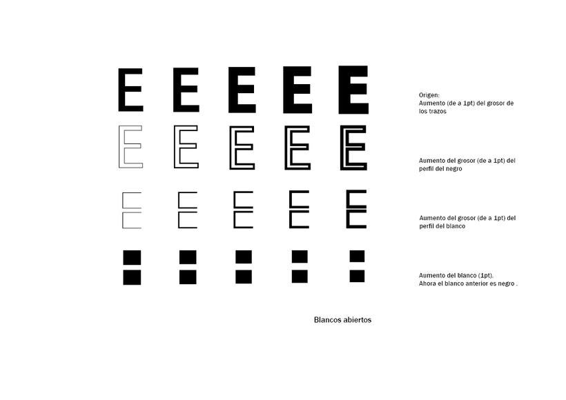Tipográfico. Catálogo de blancos y negros  6