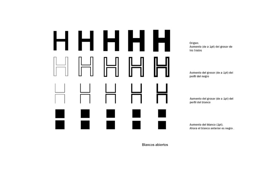 Tipográfico. Catálogo de blancos y negros  9