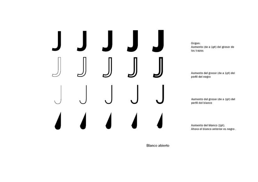 Tipográfico. Catálogo de blancos y negros  11