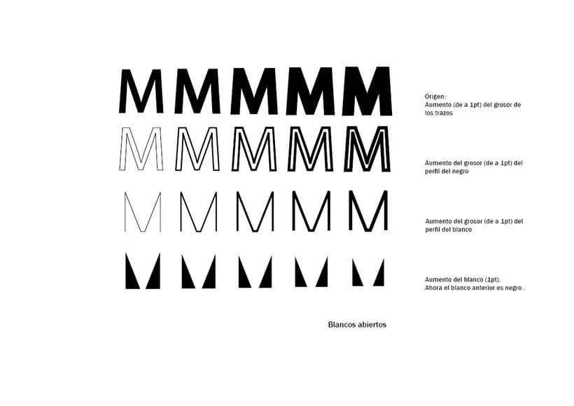 Tipográfico. Catálogo de blancos y negros  14