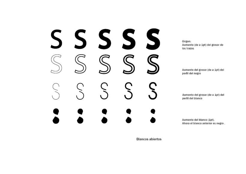 Tipográfico. Catálogo de blancos y negros  20