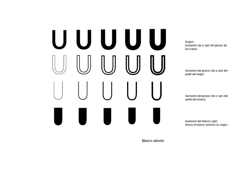 Tipográfico. Catálogo de blancos y negros  22