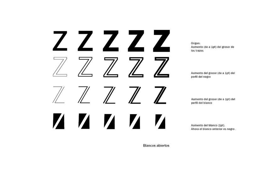 Tipográfico. Catálogo de blancos y negros  27