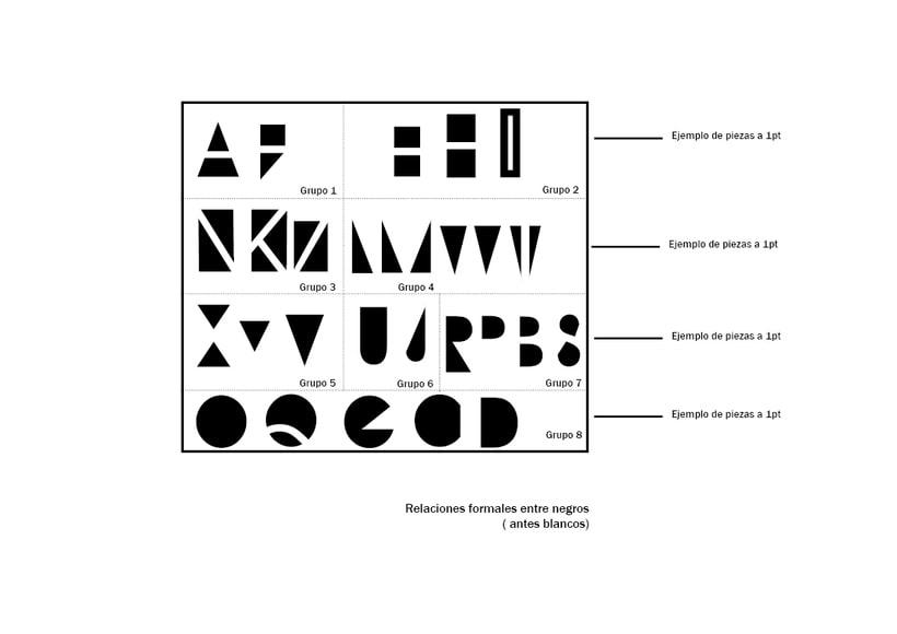 Tipográfico. Catálogo de blancos y negros  28