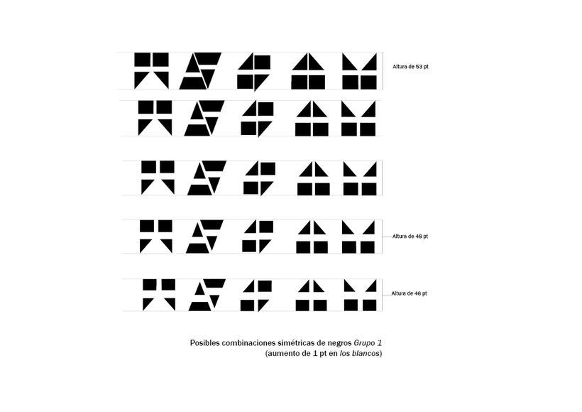 Tipográfico. Catálogo de blancos y negros  29