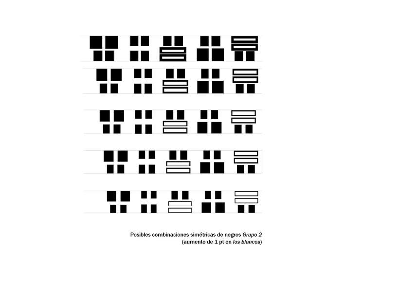 Tipográfico. Catálogo de blancos y negros  30