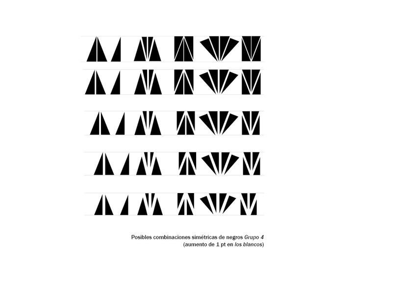 Tipográfico. Catálogo de blancos y negros  32